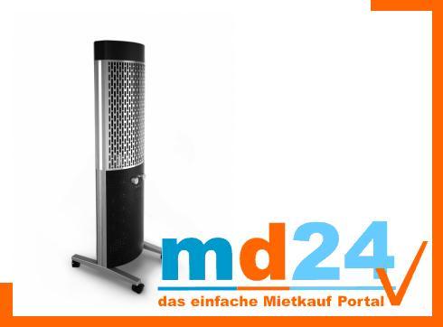 grandhall Totum Gas Außenheizung mit LED und Lautsprecher per Akku mit MP3 Anschluss