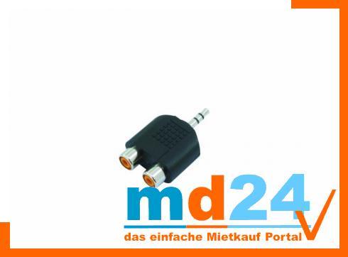 2-Cinchbuchse/1xKlinke 3,5mm stereo   /10