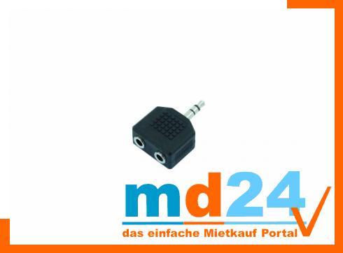 2-Klinkenbuchse/1-Klinke 3,5mm stereo /10