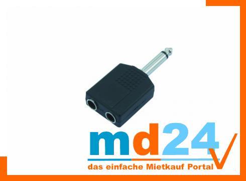 2-Klinkenbuchse/1-Kl.Stecker mono     /10