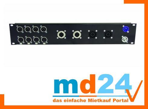 Frontplatte Z-19 f.8x D-Type/4xNL8/T 2HE
