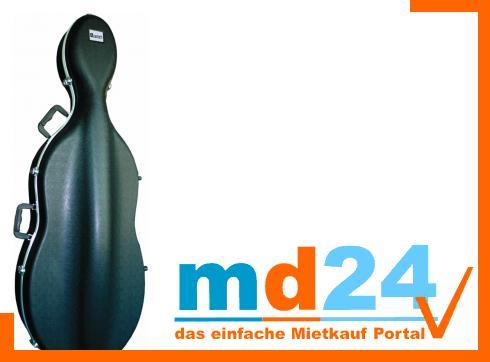 DIMAVERY ABS Case für Cello, 1/2
