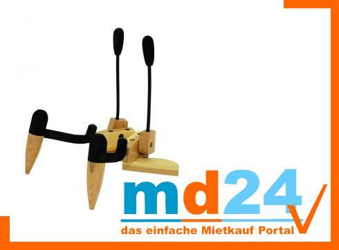 DIMAVERY Design Holzständer für Violinen