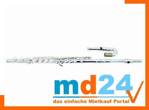DIMAVERY QP-20  Querflöte,m. Bogen/Gerade