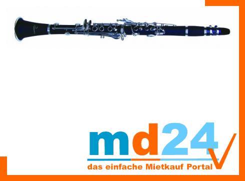 DIMAVERY K-17 Bb Klarinette, 17 Klappen gebürstetem Kunststoff