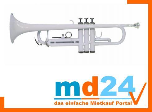 DIMAVERY TP-10 Bb Trompete, weiß