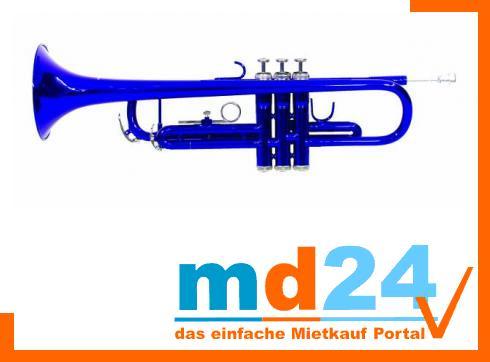 DIMAVERY TP-10 Bb Trompete, blau
