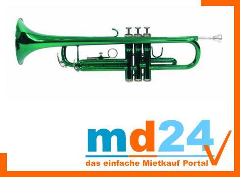 DIMAVERY TP-10 Bb Trompete, grün