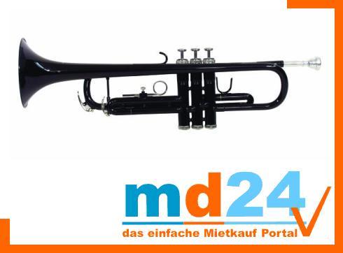 DIMAVERY TP-10 Bb Trompete, schwarz