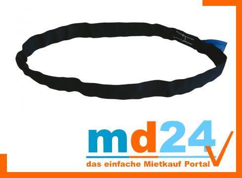 Rundschlinge SX schwarz 1,0m Nutzl. 0,5m 1200kg