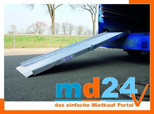 Ladebrücke 4,00m / 3940x1050x1000mm / 78kg