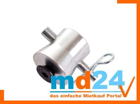 F32-44 PL Kupplung, halbkonisch mit M10