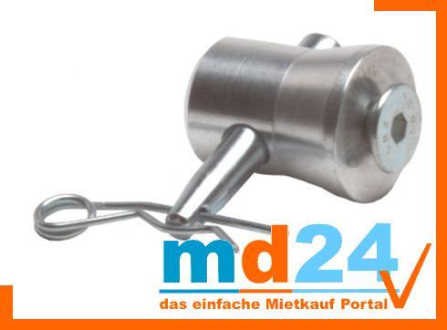 F 22-24 Kupplung, halbkonisch mit M8