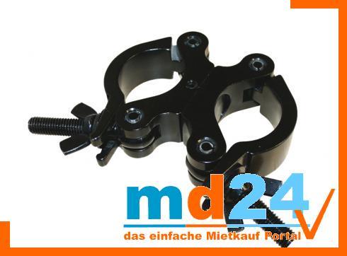Trussaufnehmer doppelt drehbar schmal (30mm) Black