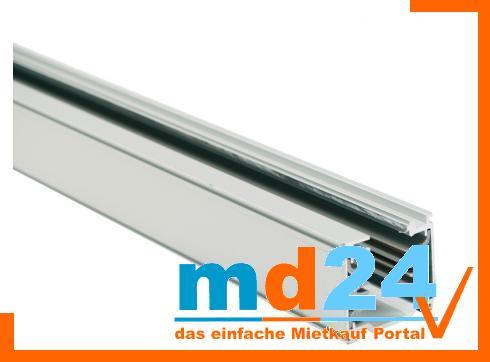 3-phasen Stromschiene 755mm matt silber
