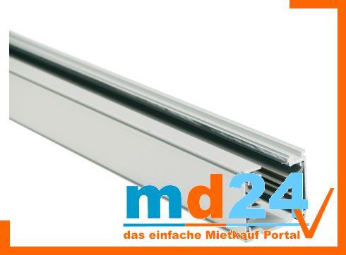 3-phasen Stromschiene 2755mm matt silber