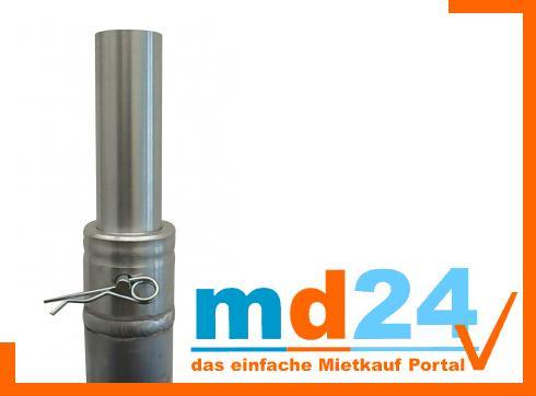 Boxen Adapter 35mm mit Halbkonus Verbinder