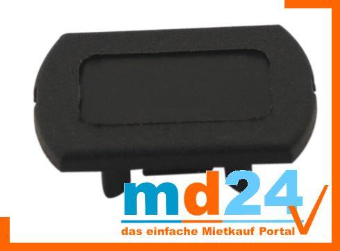1-phasen Endkappe, schwarz