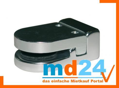 Glasscheibenhalter 6 - 10 mm mit M 10 Gewinde