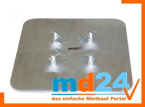 F14 Base quadratisch 250mm