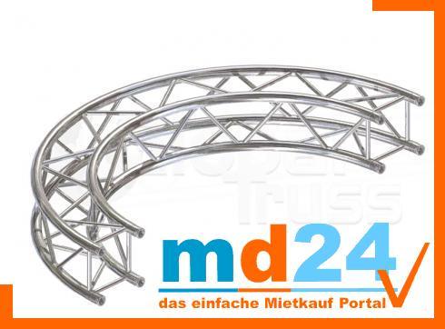 F24 Kreisstück für Kreis  4,0m � / 1 Stück 90 ø