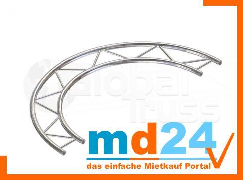 F32 Kreisstück H für Kreis  2,0m � / 1 Stück 180 ø