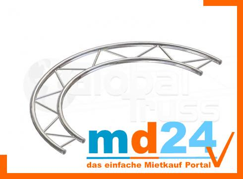 F32 Kreisstück H für Kreis  3,0m � / 1 Stück 90 ø