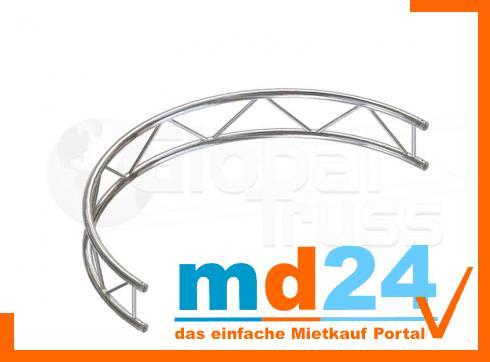 F32 Kreisstück V für Kreis  4,0m � / 1 Stück 90 ø