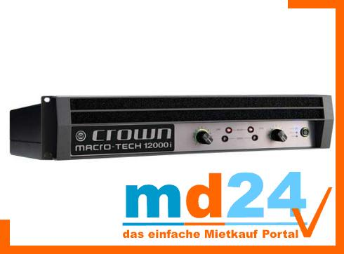 Crown MAi 12000 Endstufe