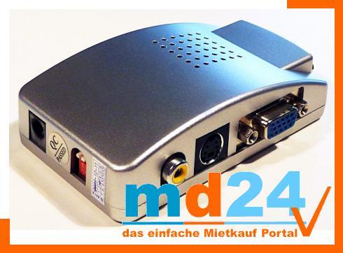 M-Ware VGA-zu-Video-Konverter (TV/HDTV/PlasmaTV)